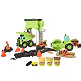 Play-Doh Wheels Gravel Yd Construction Toy with Non-Toxic Pavement...