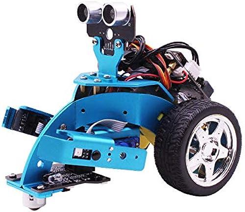 XZANTE Fuer Mirko  Bit DIY 3 In 1 Intelligenter Programmierroboter Auto Kit Schulbau Bildung Fuer 10+ Kinder Zum Lernen Wissenschaftsrobotik Hellobot Starter Roboter Kit (Ohne Microbit)