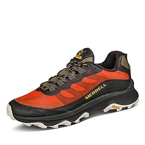 Merrell Moab Speed - Zapatillas de senderismo para hombre, rojo (Mandarina Naranja Multi), 42 EU