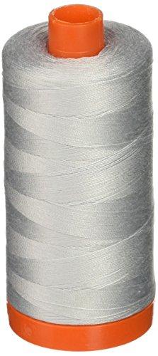 Aurifil – fester Mako-Baumwollfaden 50WT, 1300 m, Taube, A1050-2600