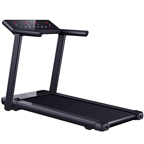 2in1 Folding Treadmill Desktop Electric Treadmill 3.5ph Mute Motor Led Touch Large Screen No Need to Install 14km/h Maximum Load 220lb