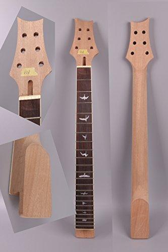 yinfente guitarra eléctrica Cuello de repuesto 24trastes 24,75(Kit de guitarra eléctrica para PRS