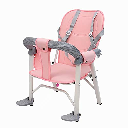 Postposition Mounted Deluxe Child Sicherster Kindersitz, Alter 1-4 Hellblau