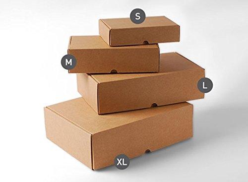 Selfpackaging Caja Rectangular automontable en cartón microcanal ...