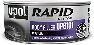U-POL 6101 Rapid System Body Filler, Gray, 1.1L Tin