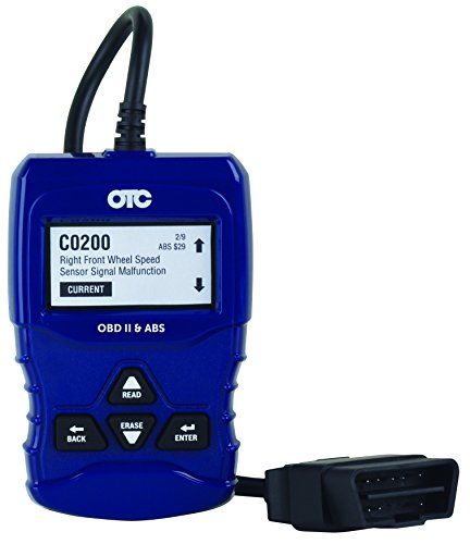 OTC Tools 3208 OBD II & ABS Scan Tool with Enhanced Engine and Transmission Codes, Blue