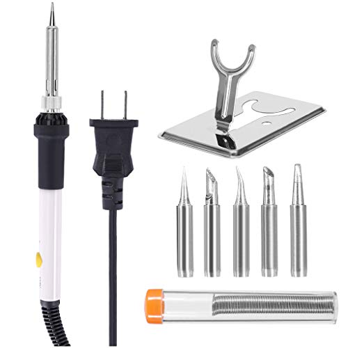 Review Of Micozy Soldering Iron Gun Kit Electrical Wire Tips Tool Set, Full Set 60W 110V Adjustable ...