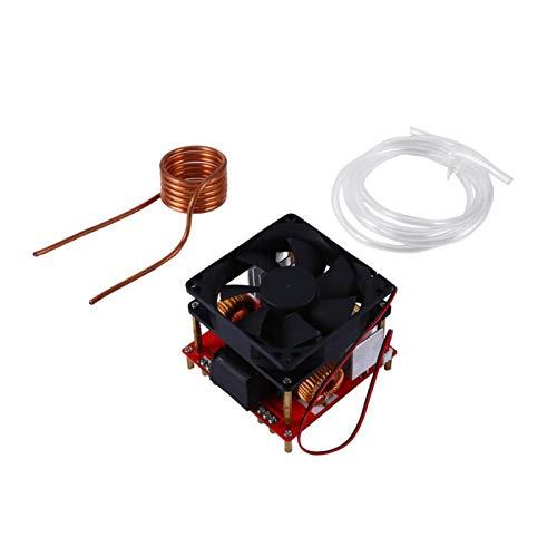 Placa calefactora, módulo de Placa calefactora por inducción de bajo Voltaje DC24V-36V 500W ZVS con Ventilador y Bobina calefactora