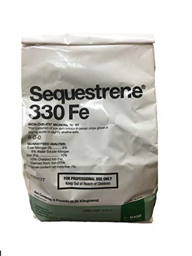 Sequestrene Iron Chelate Sequestrene 330 Fe, 5 lb