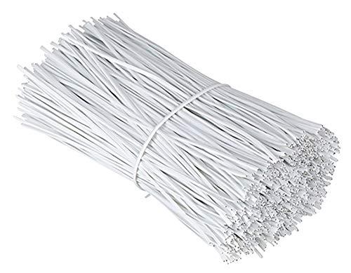 Chingde Gestión de Cable eléctrico, 200 Piezas Lazo de Alambre de Hierro,plástico...