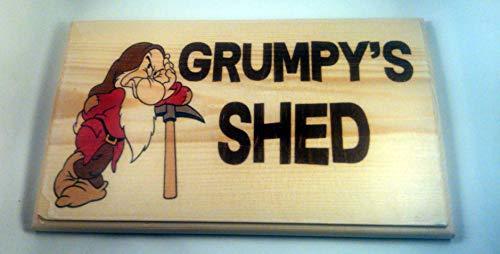 Large Grumpys Shed Sign, Grumpys Workshop, Grandads Shed, Grandads Garden Shed Plaque