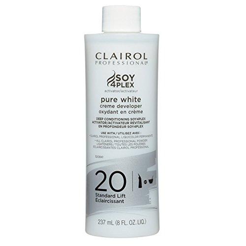 Clairol Professional Clairoxide Pure White 20 Volume Creme Developer 8 oz.