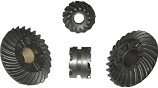 Lower Unit Gears - 4 piece gear set for Johnson 150-225 HP V6 Outboard Motor 1979-2005