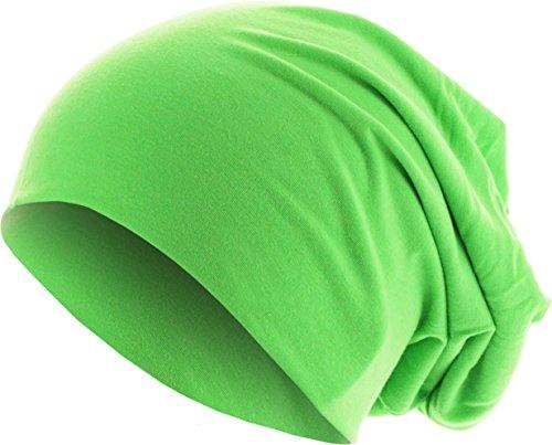 MSTRDS Jersey Beanie Bonnets en Mailles, Grün (Neongreen 3422), Taille Unique Femme