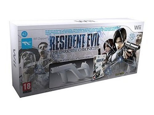 Bundle Resident Evil : The Darkside Chronicles + Official Nintendo Wii Zapper
