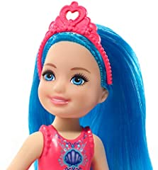 Barbie dreamtopia Chelsea Sprite - GJJ94 - Doll 17cm with blue hair - New #2
