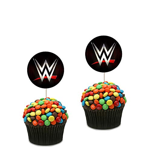 WWE Cupcake Toppers (Pack of 25)