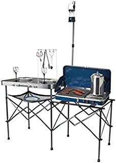 Ozark Trail Deluxe Portable Camp Kitchen Table by Ozark Trail