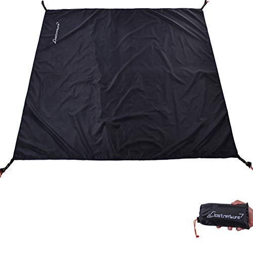 Clostnature Tent Footprint - Waterproof Camping Tarp, Heavy Duty Tent Floor Saver, Ultralight Ground Sheet Mat for Hiking, Backpacking, Hammock, Beach - Storage Bag Included