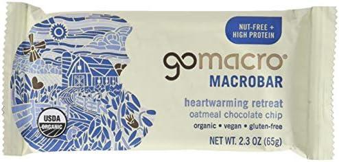 GOMACRO Organic Oatmeal Chocolate Chip Bar, 2.3 OZ