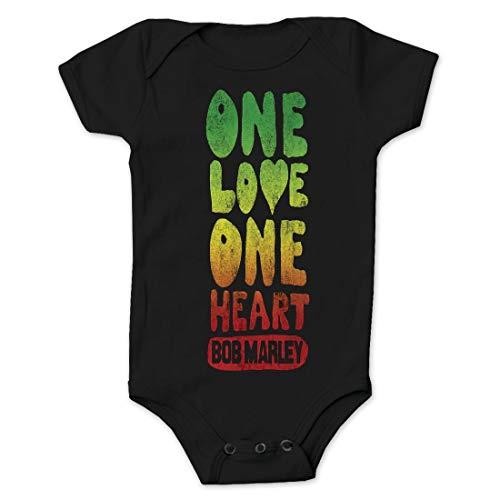 Bob Marley - Un amor y un corazón - negro - X-Large