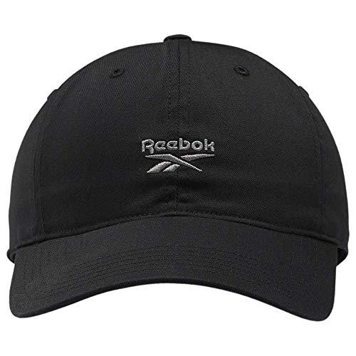 Reebok Herren Te Logo Cap Kappe, Schwarz, Einheitsgröße