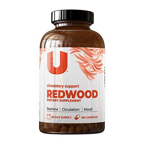 UMZU: Redwood, Nitric Oxide Booster Capsules - 30 Day Supply - N.O. Supplement for Circulatory Support -  UMZU-FBA-REDWOOD-1PK