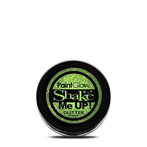 PaintGlow, Shaker, néon UV, vert menthe, 5 g
