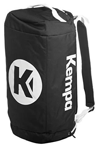 Kempa Sporttasche mit Rucksack-Funktion 54 x 28 x 28 cm, 40 L (schwarz)