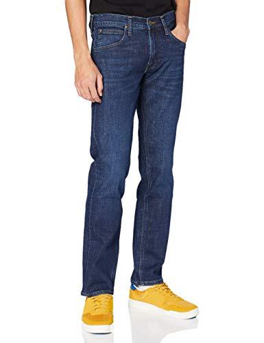 Lee Herren Daren Zip Fly Jeans, Dark Bluegrass, 32W / 30L