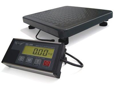 PROMOTION Balance électronique plate-forme idéale comme pèse-colis - pesage objets lourds 60kg x 20g- Câble USB inclus
