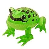 HENBRANDT - Rana hinchable (39 cm), color verde