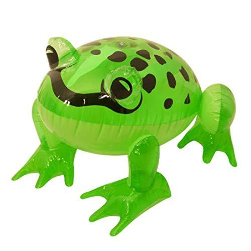 Henbrant Inflatable Green Frog 39cm - Great Scene Setter