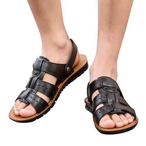 Alaso Des sandales pour Homme Noir 5