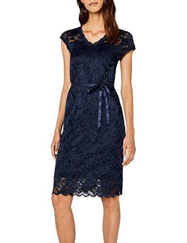 MAMALICIOUS Damen MLNEWMIVANA Cap Jersey Dress Kleid, Blau (Navy Blazer), 40 (Herstellergröße: L)