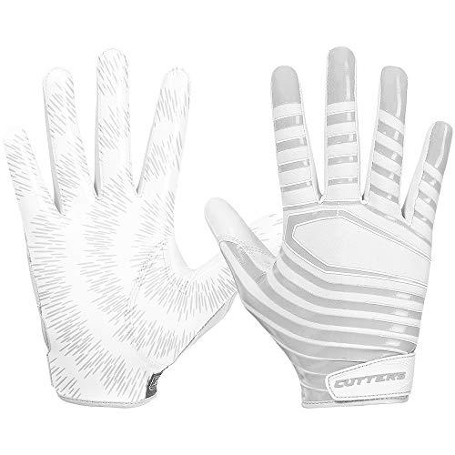Cutters S252 Rev 3.0 Receiver Handschuhe Modell 2019 - weiß Gr. XL