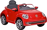 Rollplay 6 Volt VW Beetle Ride On Toy, Battery-Powered Kid's Ride On Car
