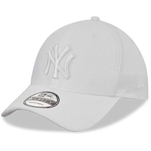 New Era Diamond Era 9forty York Yankees - Gorra Unisex, Unisex Adulto, Gorra, Hombres, 12523903, Blanco, Talla única