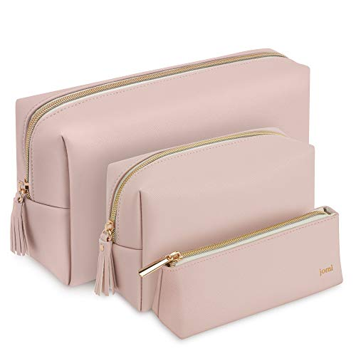 JOMI Set of 3 Large Medium and Small Cosmetic Bag Organiser for Use as...