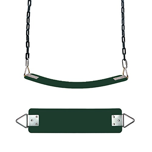 Playground Swing,Sundlight Swing Seats with Metal Triangle Ring Blue Swing Set Replacement Hold up to 660 Pounds for Kids Adult