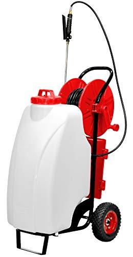 Fahrbare Pumpe batteriebetrieben 45lt Schubkarre für Versprühen Behandlungen zur Unkrautbekämpfung