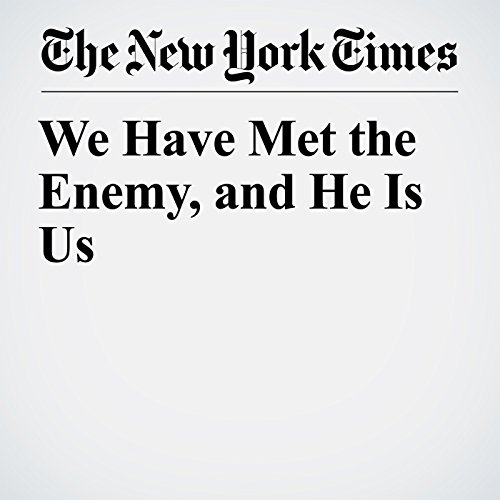 We Have Met the Enemy, and He Is Us copertina