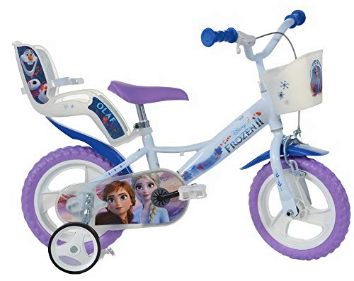 Frozen II - Kids Bicycle 12 Inch Purple