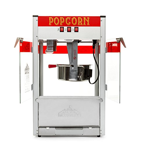 Product Image 2: Olde Midway Commercial Popcorn Machine Maker Popper with Large 12-Ounce Kettle – Red