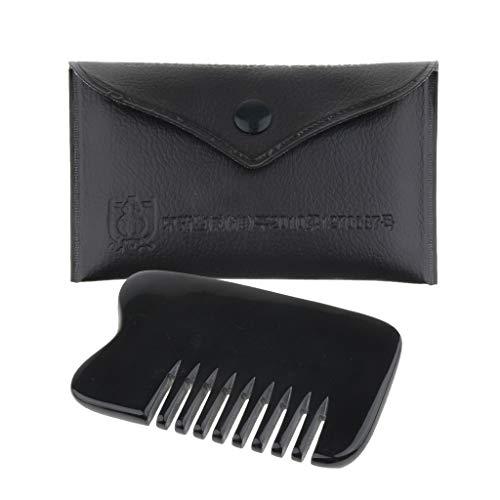 Baoblaze Peigne de Massage Démolition SPA Pour Cheveux Barbe Moustache