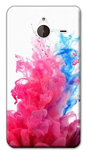 Mixroom - Cover Custodia Case in TPU Silicone Morbida per Nokia Lumia 640 XL W359 Schizzi di Fumo