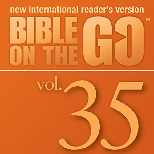 Bible on the Go, Vol. 35: Baptism, Temptation, Disciples, and Miracles of Jesus (Matthew 3-4; Mark 1-2; John 1, 3; Luke 5-6) cover art