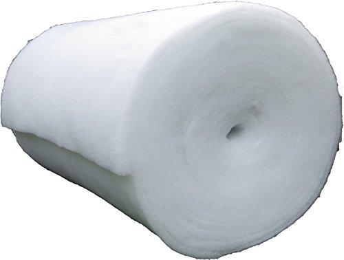 pemmiproducts Spezial Schneematte, Meterware, 1,00 x 2,50 m, ca. 20 mm dick, 2,50 m², (EUR 6,36 /m²), extra weich und extra flauschig, Kunstschnee, Dekoschnee