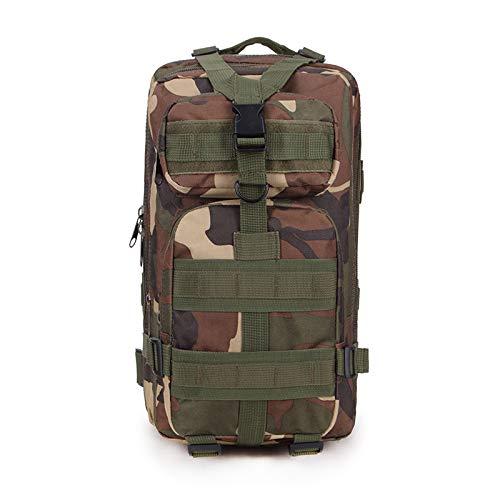 Hombres Mujeres Mochila táctica del ejército al Aire Libre Camping Senderismo Trekking Mochila de Camuflaje Bolsa de Viaje