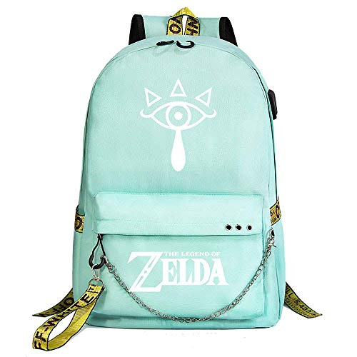 Mylxdn The Legend of Zelda Traje Traje De Bolsa Mochila Bandolera Hombres Y Mujeres Mochila Mochila Viajes De Placer